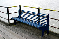 Bench On The Pier At Southend