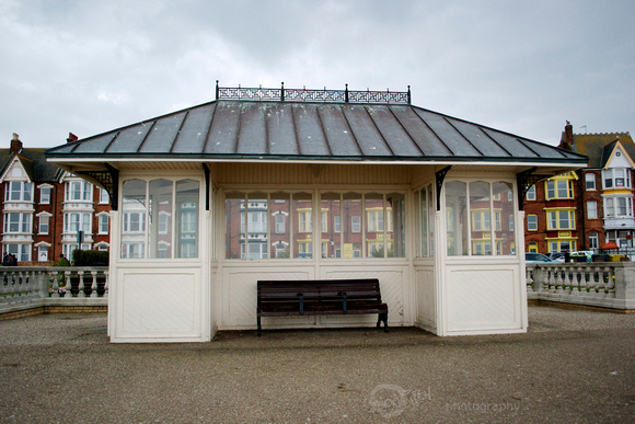 Victorian Sea Shelter and Bench